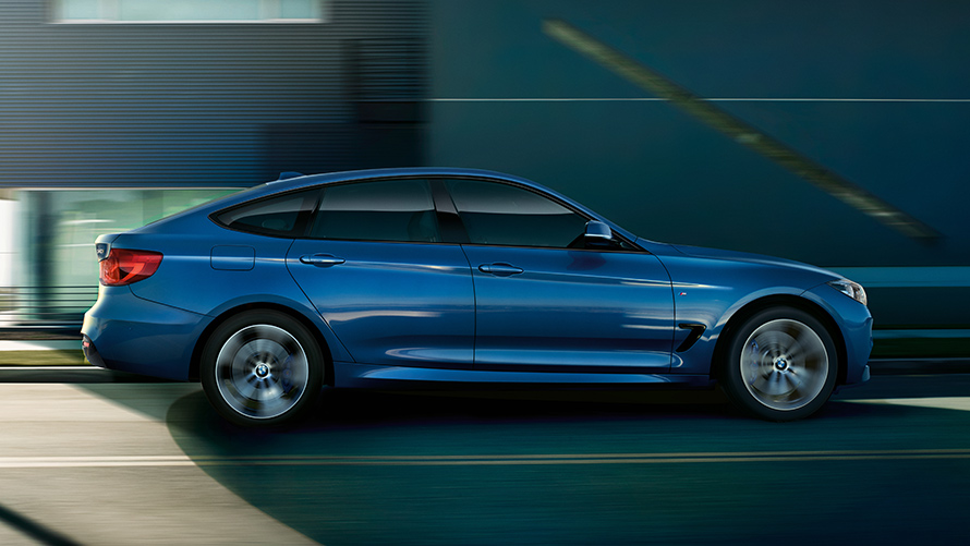 the bmw gran turismo at a glance