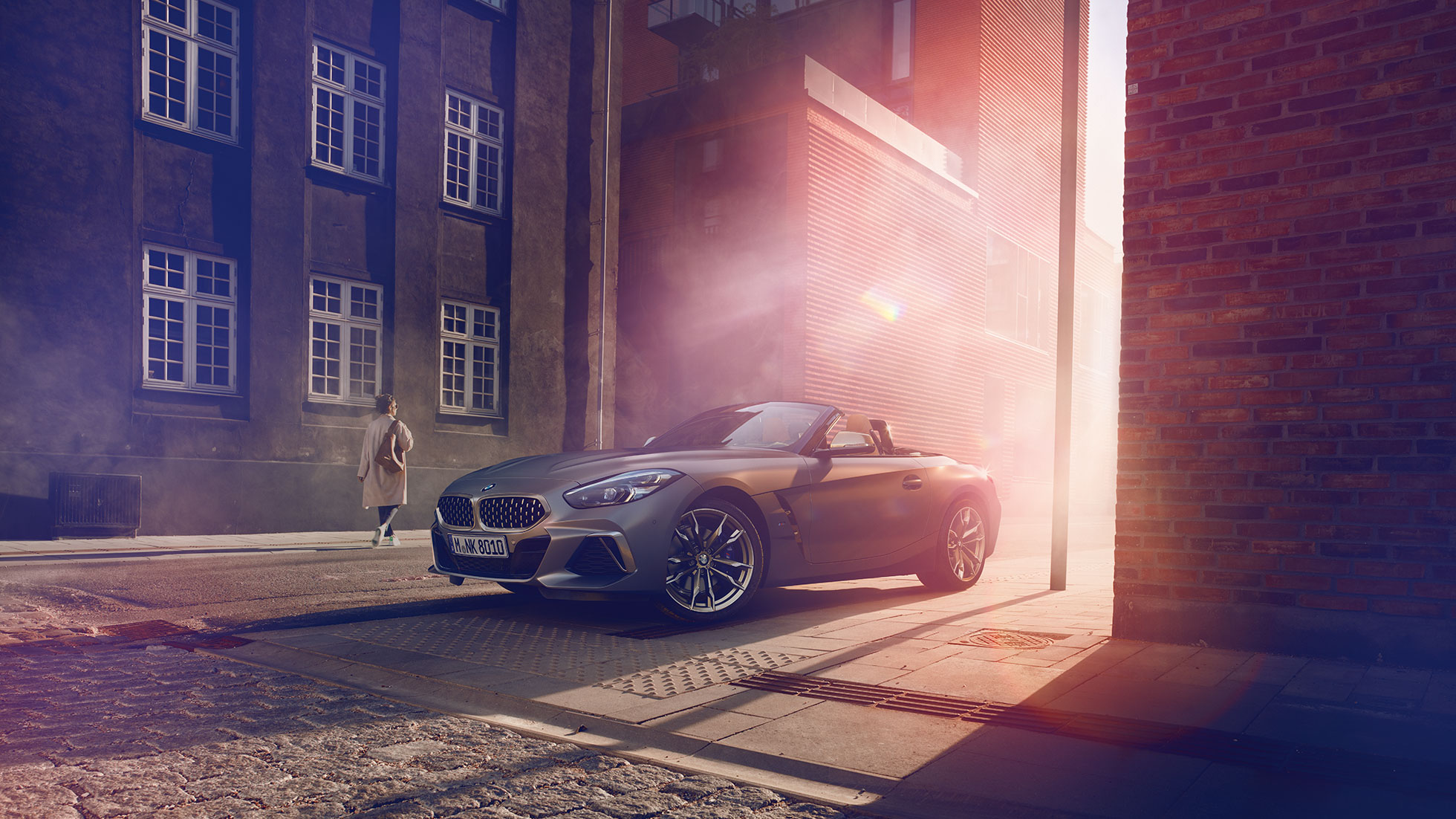 BMW Z4 Roadster in street