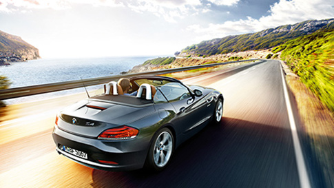 BMW Z4 Series country driving conditions
