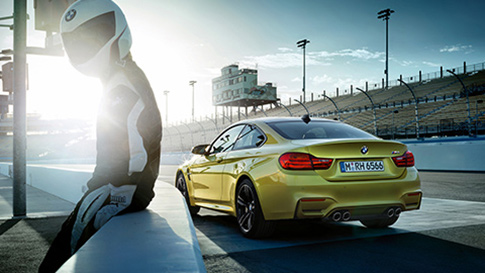 BMW M4 Series Coupé high performance