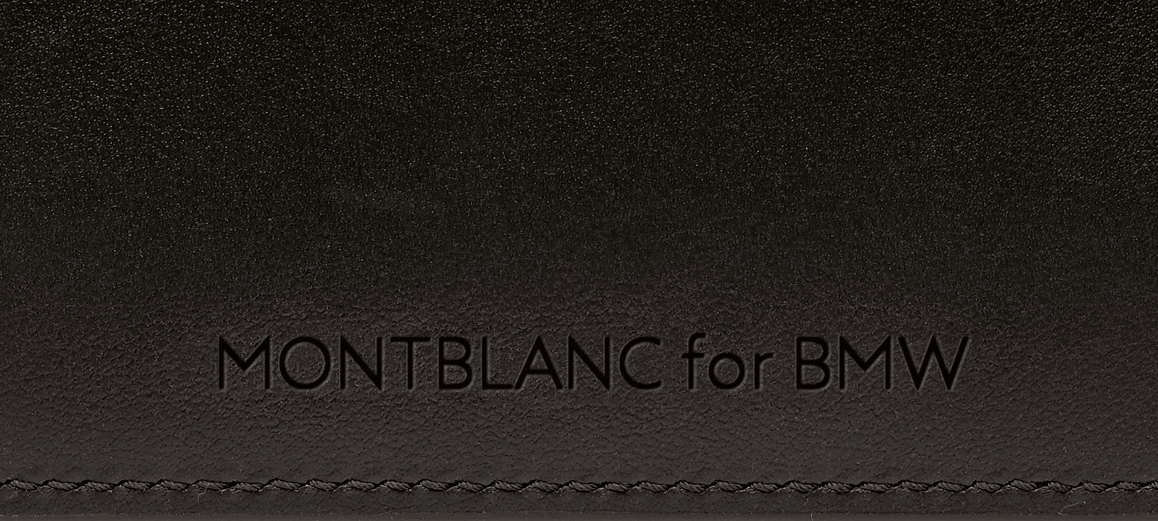 The picture shows the Montblanc for BMW Credit Card Holder.