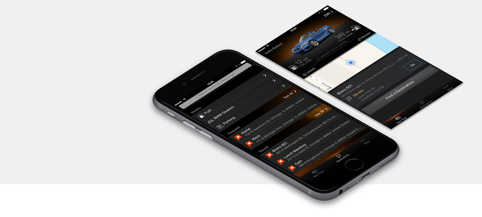 BMW Apps: Overview