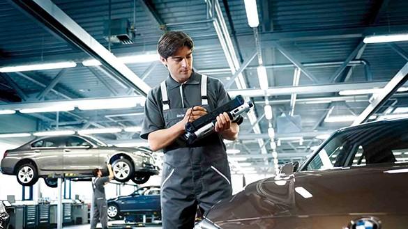 BMW check up  maintenance