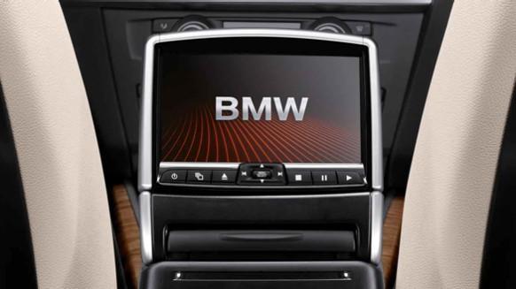 bmw dvd system in rear