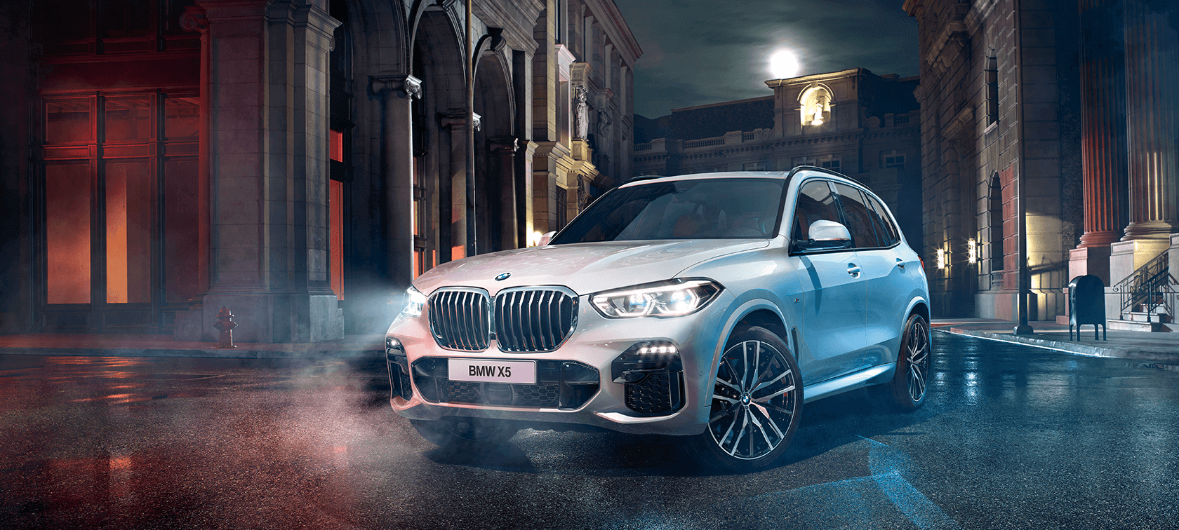 THE ALL-NEW BMW X5.