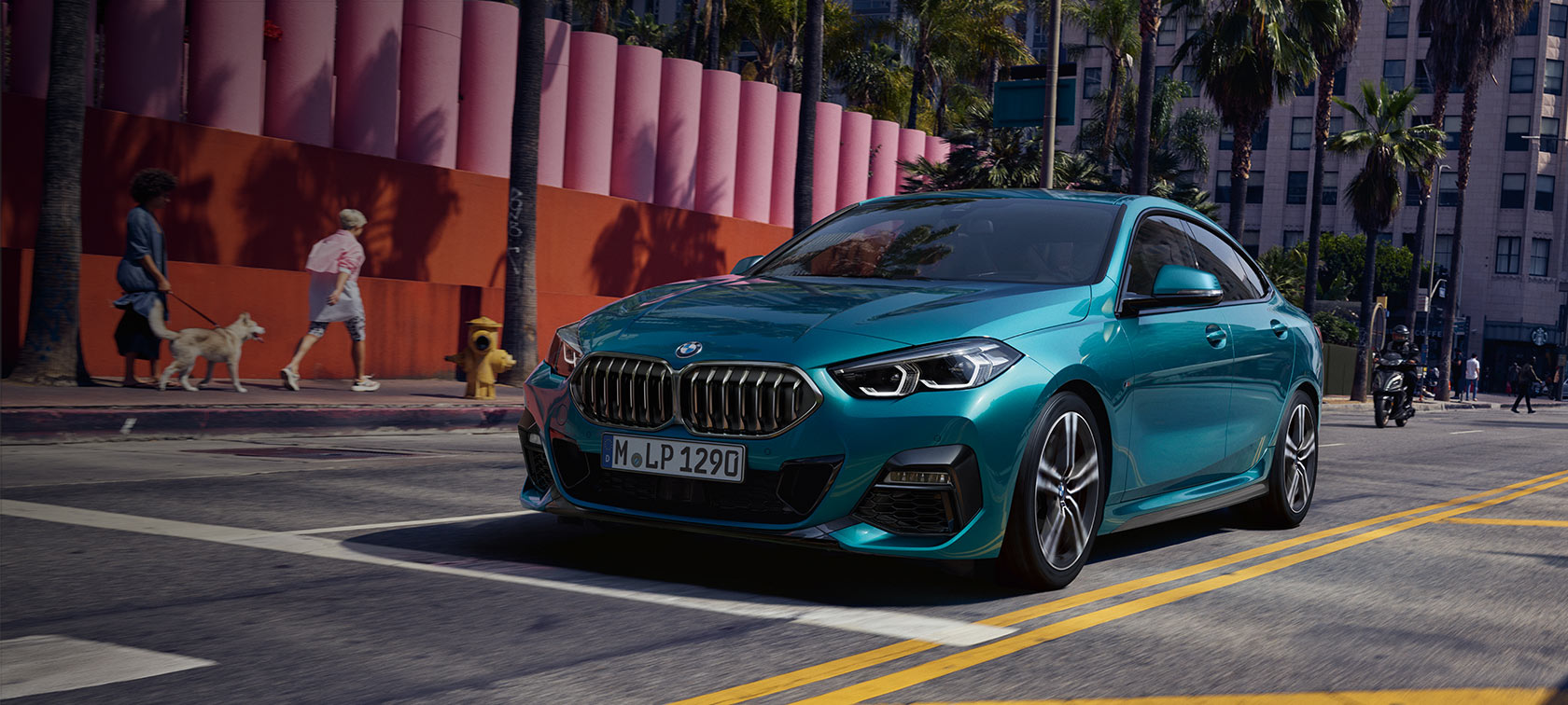 The all-new BMW 2 Series Gran Coupé F44 2020