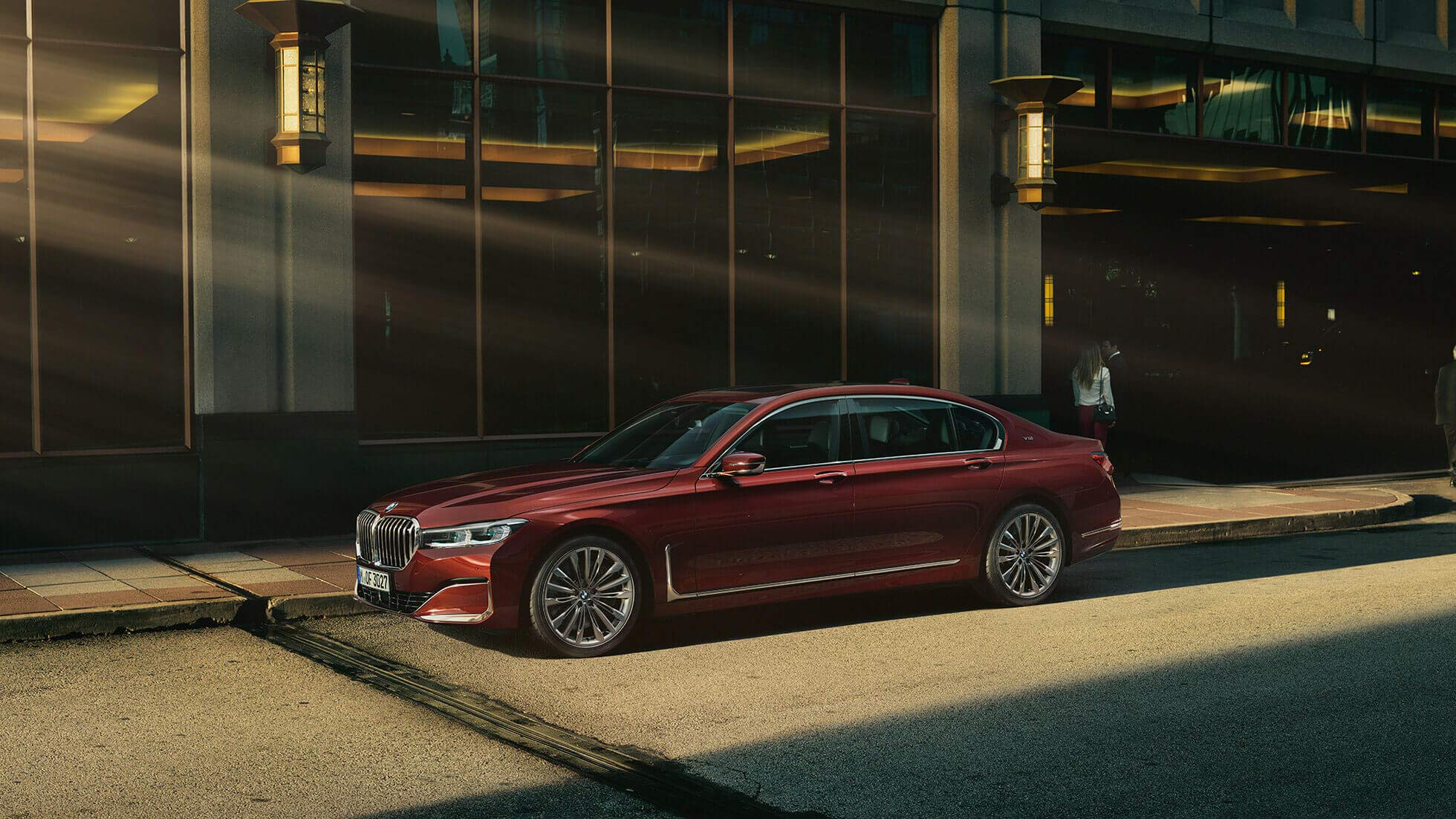 Bmw 7 Series The Sedan Of The Luxury Class Bmw In