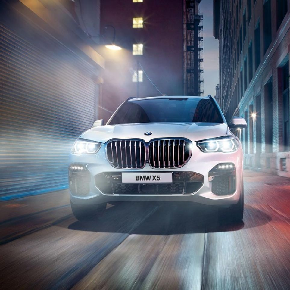 Boss every style with the BMW X5